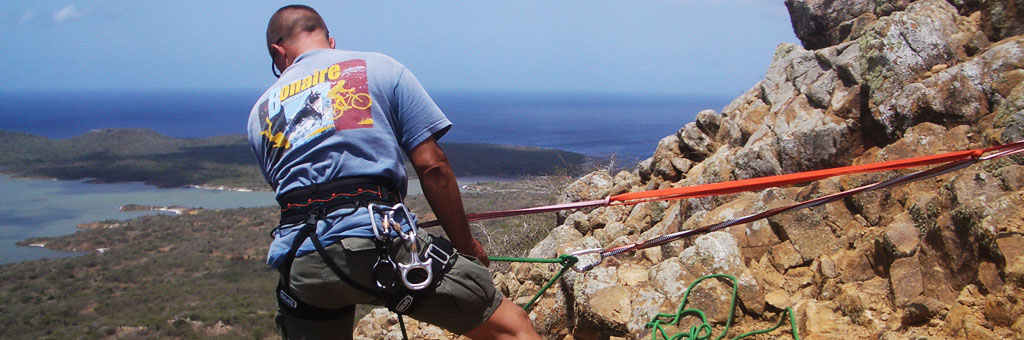 Bonaire Climbing and Rappelling